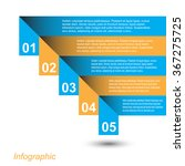 info graphic design template.... | Shutterstock .eps vector #367275725