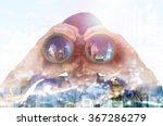 double exposure of a...   Shutterstock . vector #367286279