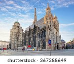st. stephan cathedral in vienna ... | Shutterstock . vector #367288649