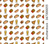 Fast Food Seamless Pattern....