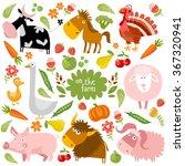 vector set with pets | Shutterstock .eps vector #367320941