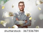 it's raining money | Shutterstock . vector #367336784