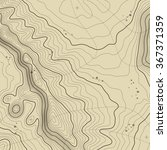 abstract topographic map in... | Shutterstock .eps vector #367371359