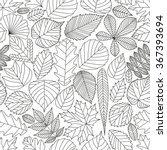Seamless Pattern With Tree...