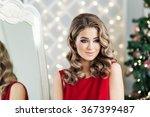 portrait a beautiful woman | Shutterstock . vector #367399487