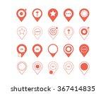 set of graphic  icons  design...