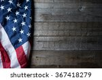 flag of the usa on clean... | Shutterstock . vector #367418279
