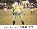 american football game   retro... | Shutterstock . vector #367421291