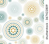 fabric circles abstract...   Shutterstock . vector #367422809
