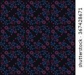 vector groundhog day pattern.... | Shutterstock .eps vector #367428671