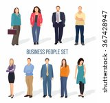 business people group human... | Shutterstock .eps vector #367428947