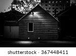 Black And White Small House Li...