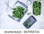 Fresh Organic Vegetables And...