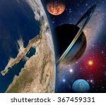 Astrology Astronomy Earth Space Solar - Fine Art prints