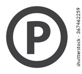 parking icon. | Shutterstock .eps vector #367462259