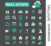 real estate  agent  agency ... | Shutterstock .eps vector #367477361