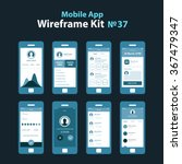 mobile wireframe app ui kit 37. ...