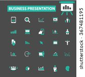 presentation  chart  diagram ... | Shutterstock .eps vector #367481195