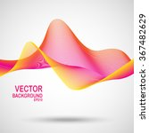 abstract colorful lines design. ... | Shutterstock .eps vector #367482629