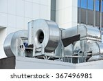 industrial air conditioning and ... | Shutterstock . vector #367496981