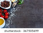 healthy eating background with... | Shutterstock . vector #367505699
