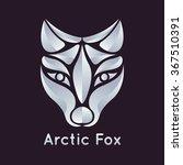 arctic fox logo vector | Shutterstock .eps vector #367510391