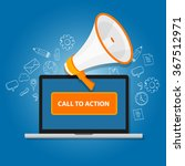 call to action button | Shutterstock .eps vector #367512971