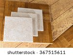 ceramic tile  cork and parquet... | Shutterstock . vector #367515611