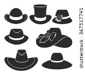 vector set of flat icons with... | Shutterstock .eps vector #367517741