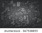 set of chemistry sketches | Shutterstock . vector #367538855