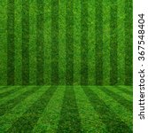 green grass soccer field... | Shutterstock . vector #367548404