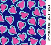 heart pattern | Shutterstock .eps vector #367591025