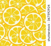 cute seamless pattern with... | Shutterstock .eps vector #367592924