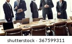 board room brainstorming... | Shutterstock . vector #367599311