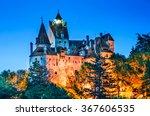bran castle  romania. medieval...