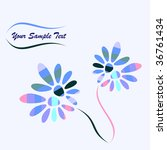 floral background | Shutterstock .eps vector #36761434