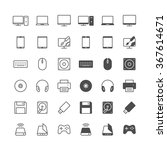 computer icons  included normal ... | Shutterstock .eps vector #367614671
