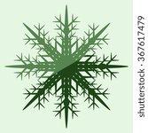 snowflake   vector icon | Shutterstock .eps vector #367617479