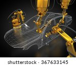 vehicle manufacturing is in... | Shutterstock . vector #367633145