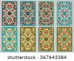 collection retro cards. ethnic... | Shutterstock . vector #367643384