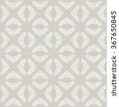 seamless damask pattern. vector ... | Shutterstock .eps vector #367650845