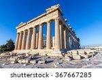 Parthenon In Acropolis  Athens...