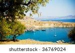 Beautiful Harbor In Rhodes...