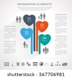 info graphic design template... | Shutterstock .eps vector #367706981