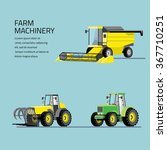 vector set of agricultural... | Shutterstock .eps vector #367710251