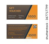 gift voucher template  discount ...   Shutterstock .eps vector #367717799