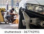 auto body repair series   ... | Shutterstock . vector #367742951