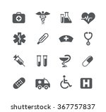 medical icons    utility series | Shutterstock .eps vector #367757837