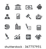 business and finance icons   ... | Shutterstock .eps vector #367757951