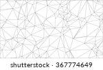 line pattern wire geometric... | Shutterstock .eps vector #367774649